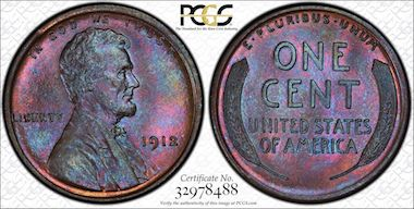 HK 1952-D NGC MS66 RED Lincoln Wheat Cent!